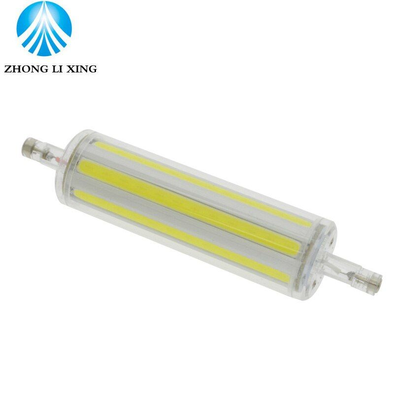 Led R7s 118mm Led Spotlight 30W 1800LM J118 R7s Led Light Cold Warm White COB R7s Energy Saving For Living Room AC85-265V