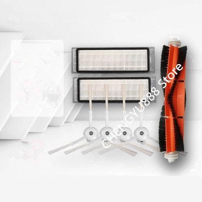 1 * roller brush + 2 * filter + 4 * Side brush Suitable for roborock s50 xiaomi vacuum 2
