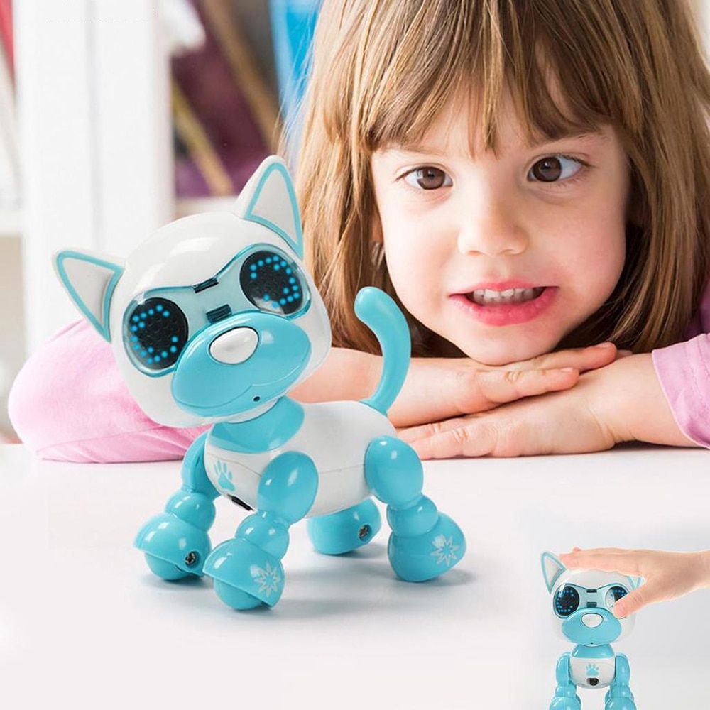 smart dog robot Electronic puppy Pets Toys Children nductive touch Intelligent interaction fun playmate sound Flexible recording