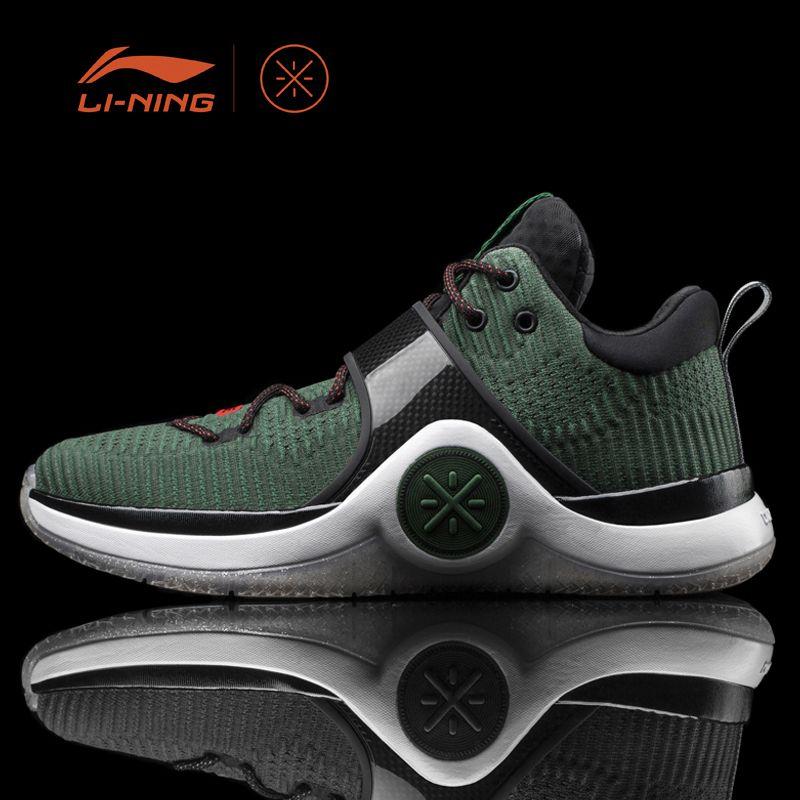 Li-Ning Men WOW 6 'Xmas' Basketball Sport Shoes Cushion Sneakers Li-Ning Cloud Support LiNing Sports Shoes ABAM089 XYL134