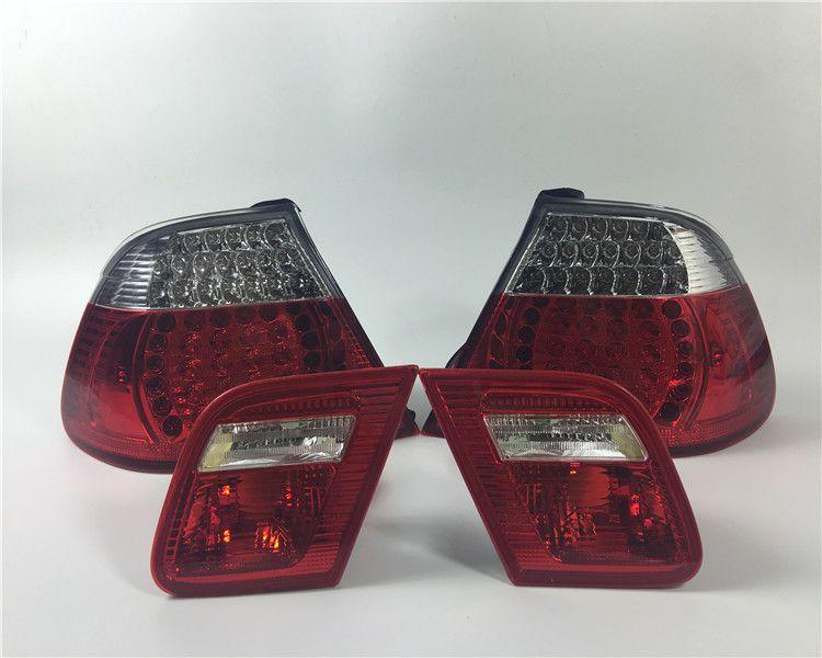EOsuns LED rücklicht + bremslicht + blinker hinten bumper licht reflektor für BMW 3 serie E46 316i 318i 320i 323i 325i 328i