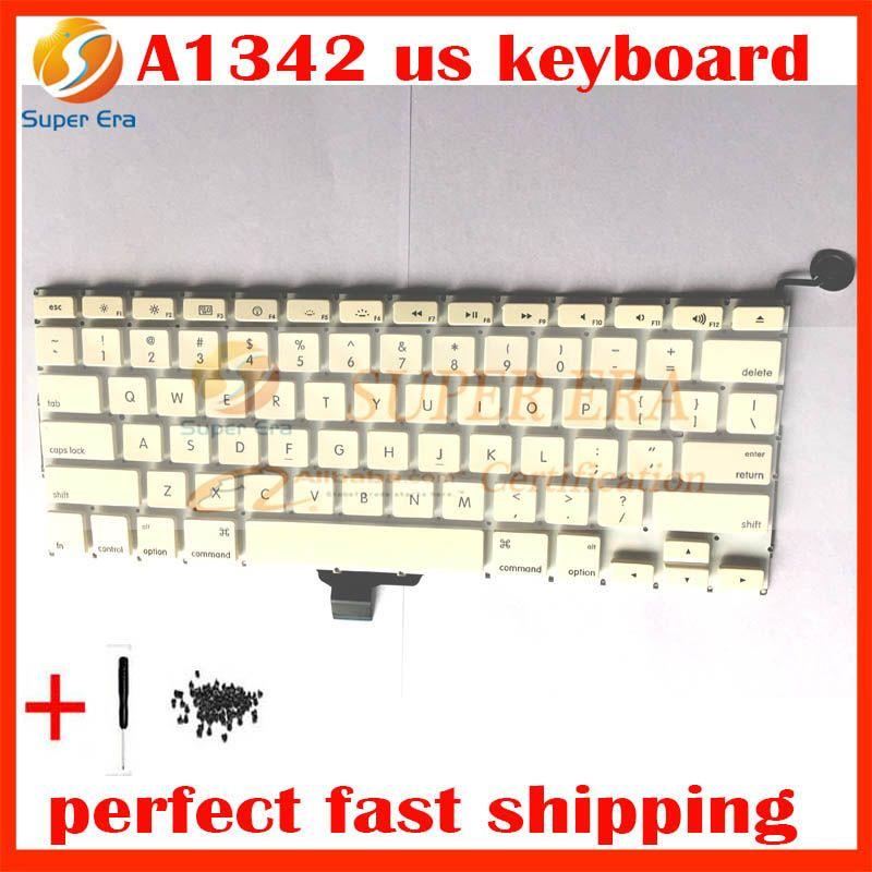 De test parfait marque nouveau clavier US pour macbook A1342 13.3 ''A1342 NOUS clavier clavier sans rétro-éclairage rétro-éclairé 2009 2010 année