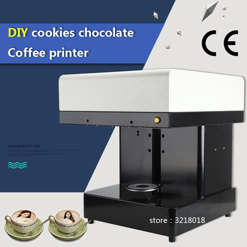 Fabrik direkt heißer verkauf Cappuccino 3d/Kuchen Selfie Joghurt Latte Art Kaffee Drucker Gesicht Maschine/Schokolade Drucker mit lebensmittel tinte