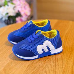 Лидер продаж детская обувь для мальчиков и девочек модные спортивные повседневные обувь детская дышащая Спортивная обувь для малышей; Бесп...