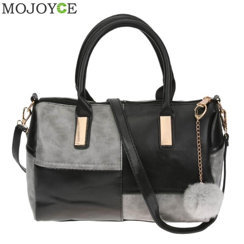 Women Patchwork Pillow Handbags Fashion PU Leather Messenger Bags Crossbody Shoulder Bag Famous Brand Female Party Handbag Bags