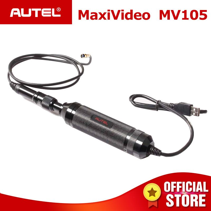 Autel MV105 5.5mm Maxisys Borescope Add On Digital Inspection Camera/Multipurpose Videoscope