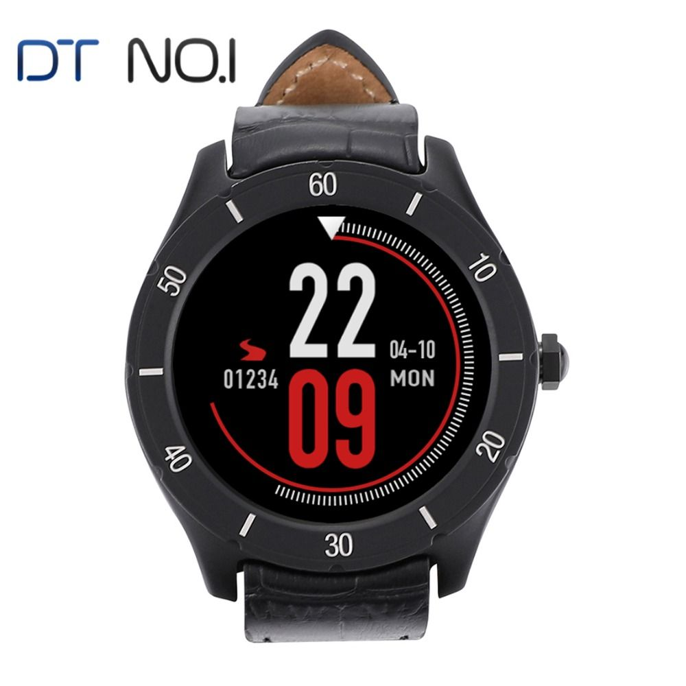 DTNO.1 K22 Smart Watch Android 4.4 Dual-Core GPS WiFi MTK6572 1G+8G Music Running Smart Watch Men Wearable Devices