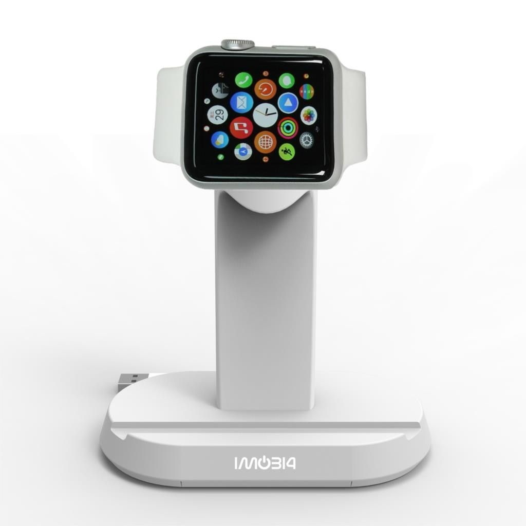 iMO314 Original Desktop Charging Dock Mobile Phone Charger Holder Stand for Apple Watch for iPhone 5 6 6S Plus 38mm 42mm