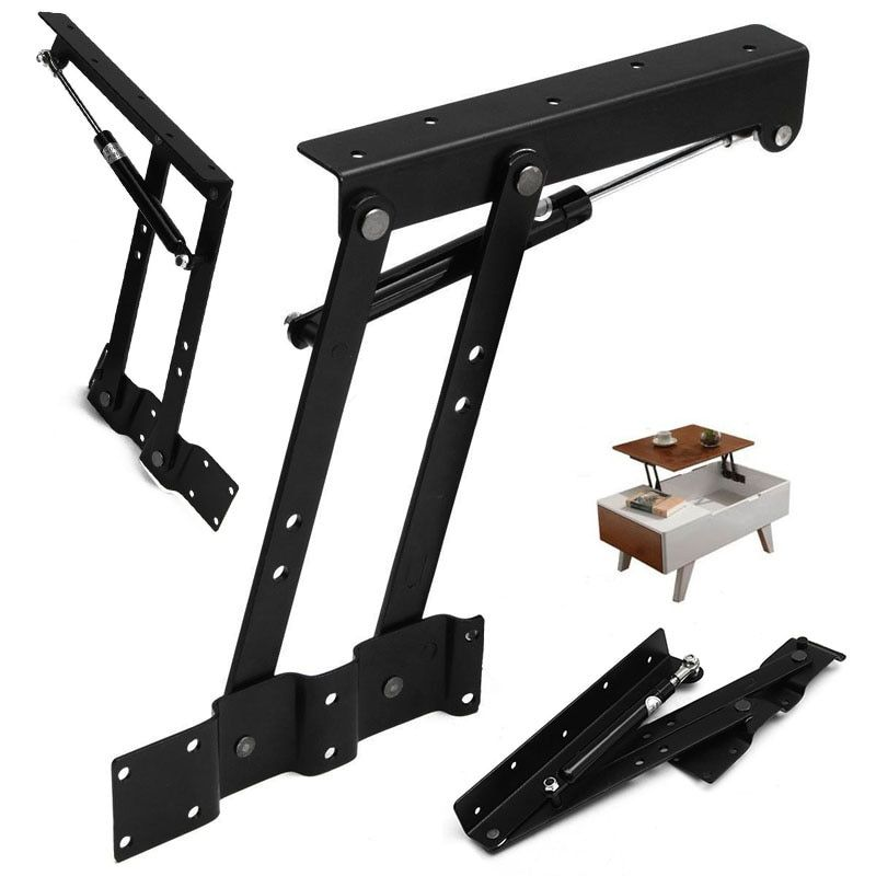 1 Pair Table hinge Lift Up Top Coffee Table Mechanism Spring Hinge Hardware Fitting Table Hinge For Furniture Accessories