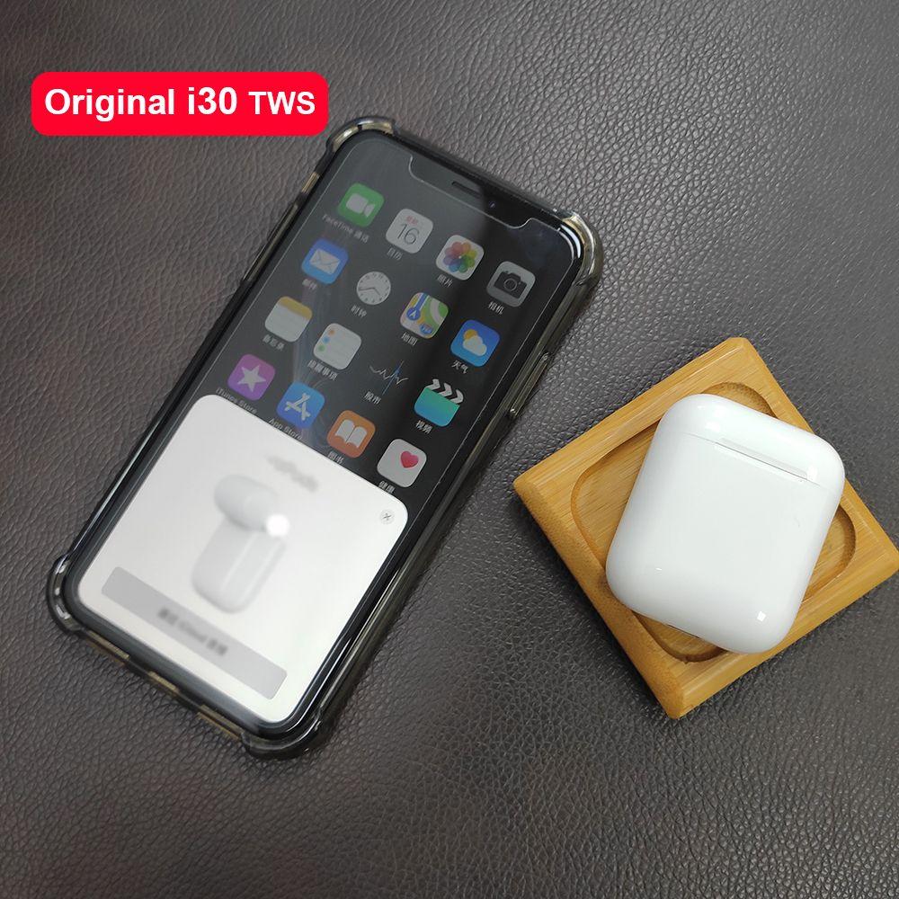 I30TWS Pop up 1:1 réplique utilisation séparée écouteur sans fil 6D Super basse Bluetooth 5.0 écouteurs i30 TWS PK i20 i10 i12 W1 puce