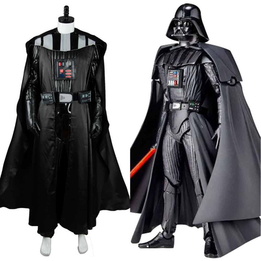 New arrival STAR WARS Dark Lord Darth Vader Carnival Costume Adult Men Cosplay Jacket Cloak Glove Full Set