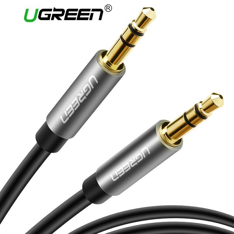 Ugreen AUX Kabel für Auto iPhone Stecker-stecker Stereo Audio Kabel 3,5 jack zu jack 3,5 AUX Auto Kabel für Kopfhörer Beats Lautsprecher