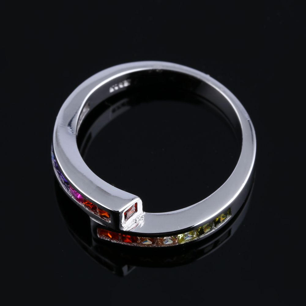 TL Stainless Steel Ring For Unisex Gift Hot Sale Party Zircon Vintage Unique Design