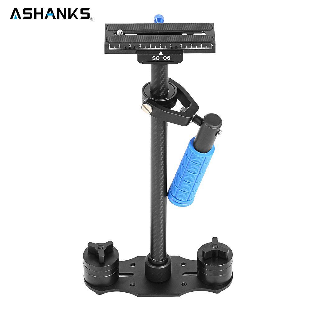 S60 Steadycam 3kg 60cm Carbon Fiber Handheld Stabilizer Steadicam DSLR Video Camera Photography S60C with Bag for Photo Shooting