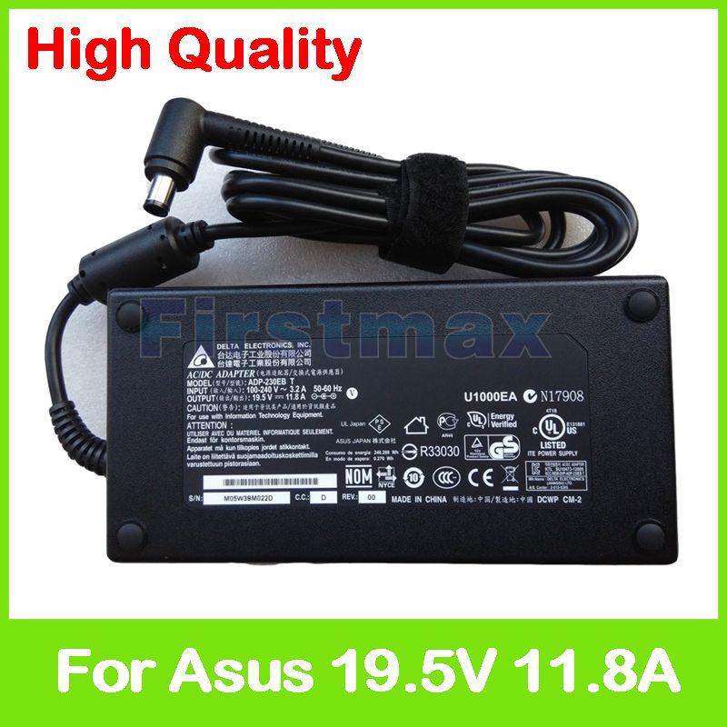 Slim 19.5V 11.8A laptop charger 90XB01QN-MPW040 90XB01QN-MPW000 ADP-230EB T AC power adapter for Asus ROG G751JY G752VS G752VY