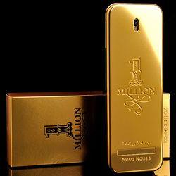 Epacket envío gratis 100 mL original millones perfume para hombres fragancias naturales de larga duración olor antitranspirante