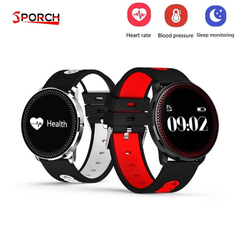 CF007 Waterppoorf Smart Bracelet With Heart Rate Blood Pressure Weather Forecast Remind Fitness Wristband Support Dropshipping