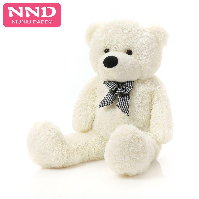 Niuniu papa géant ours en peluche peau grand jouet en peluche peluche non peluche peaux d'animaux grande peluche ours peau 160 cm à 200 CM en gros