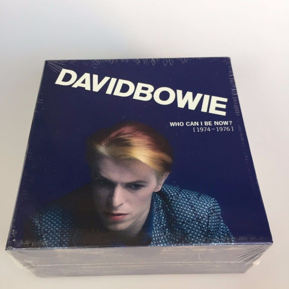 David Bowie Who Can I Be Now CD 1974 To 1976 NEW Sealed 12CD Music cd box set Brand New factory sealed top quality free shipping