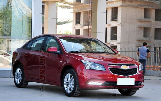 led fog lamp + led daytime running light DRL combo for Chevrolet cruze 2015 by fast shipping, with wireless switch