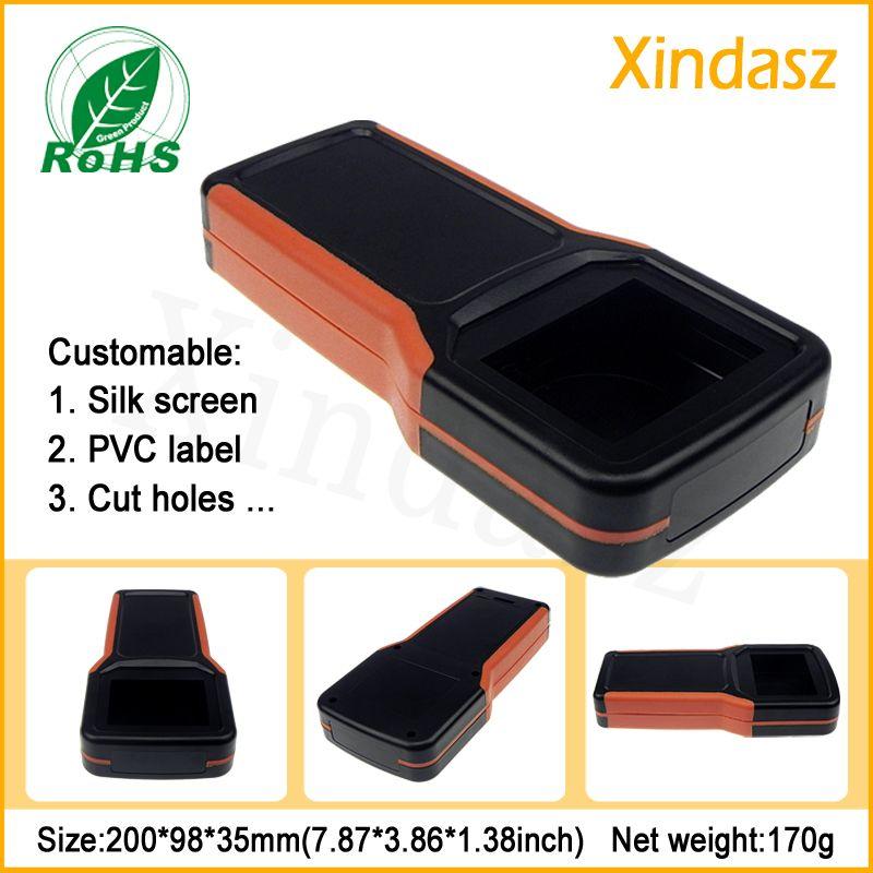 (XDH03-7) boîtier de bricolage boîtier 200*98*35mm boîtier de poche en plastique boîtier de projet boîtier d'instrument boîtier électronique portable