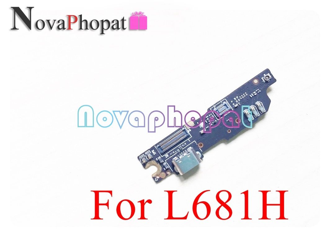 Novaphopat For Meizu M3 Note L681H Charger Port USB Dock Charging Port Connect Connector Microphone Mic Flex Cable +tracking