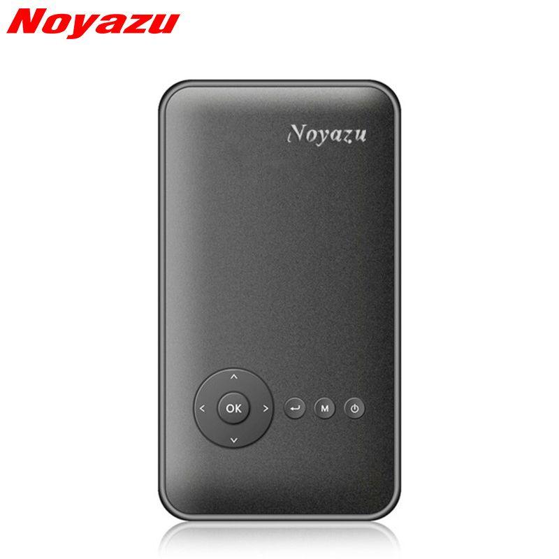 Noyazu Smart Mini Светодиодные Портативный проектор Android 4.4 WIFI Bluetooth4.0 DLP Full HD 1080 P данные показывают для смартфонов дома театр
