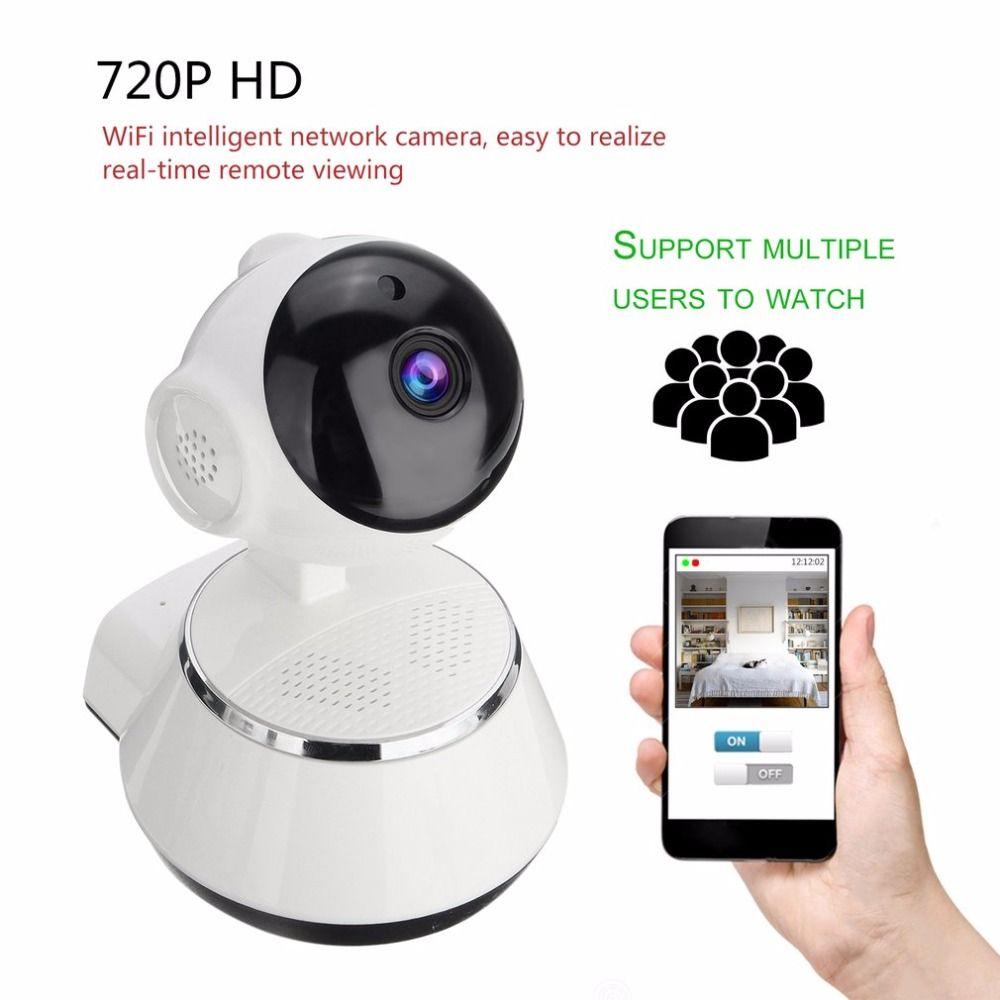 720 P HD Drahtlose Wifi Ip-kamera Home Security Überwachungskamera 3,6mm Objektiv Weitwinkel Indoor Kamera Unterstützung Vision