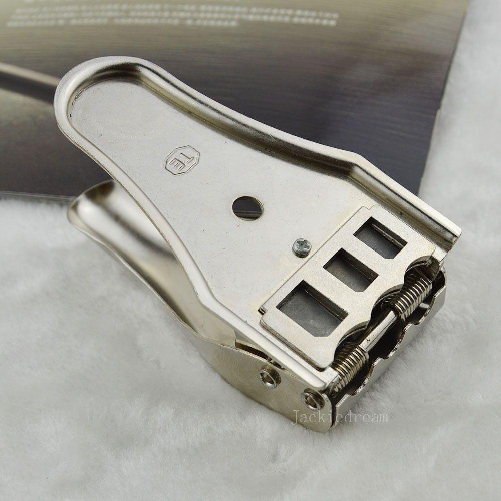 Nouveau Haute Qualité 1 pcs Unviersal 3 en 1 Micro Sim Outil De Coupe Pratique pour Nano Coupe de la Carte Pour iphone 4 4s 5 5s 6 6 s Plus