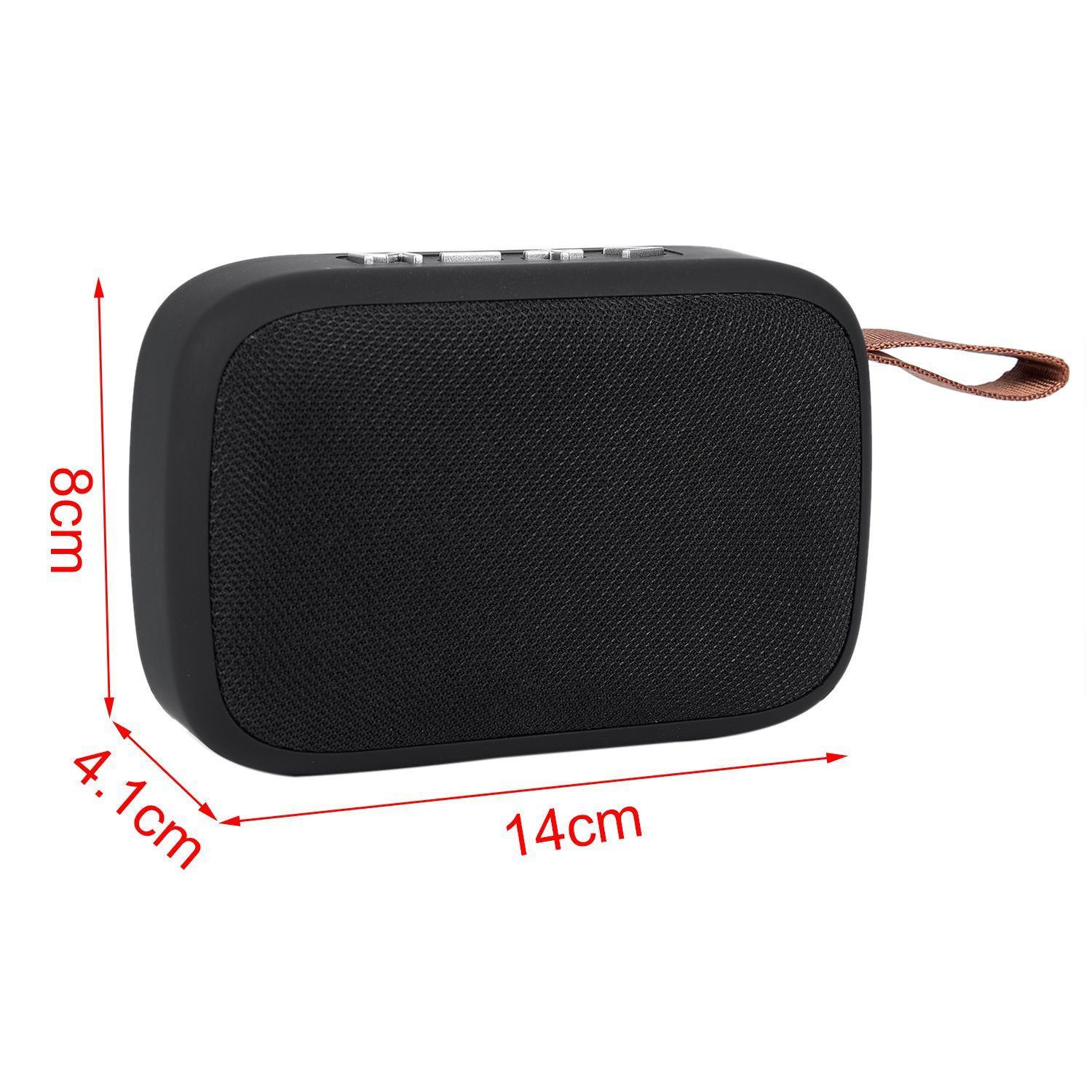 G2 Portable Bluetooth Speaker with HD Audio, Stereo Wireless Speakers with FM Radio, Better Bass, Support Micro-SD/TF Card / U