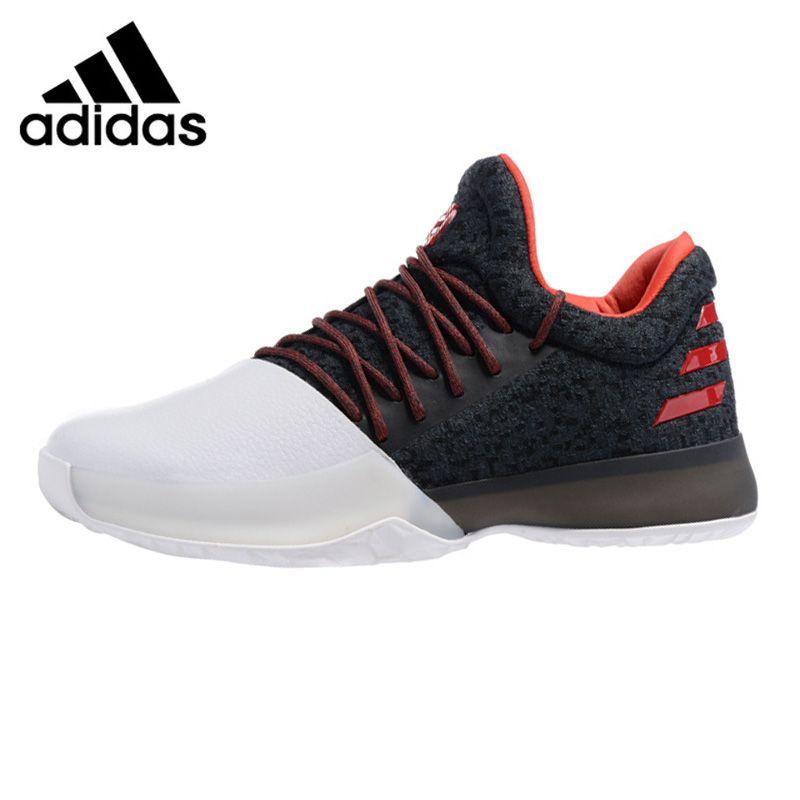 Adidas Harden Vol. 1 Men Basketball Shoes, Black White, Shock Absorption Non-slip Wear Resistant Breathable BW0552 BW0546