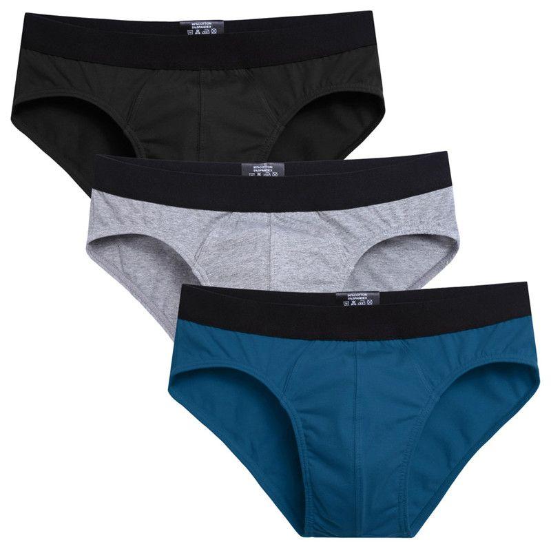 Avidlove coton Homme sous-vêtements Boxer hommes caleçons extensibles Boxer Sexy Shorts Slip Homme Homme culotte sous-vêtements pour hommes 3 pcs/lot