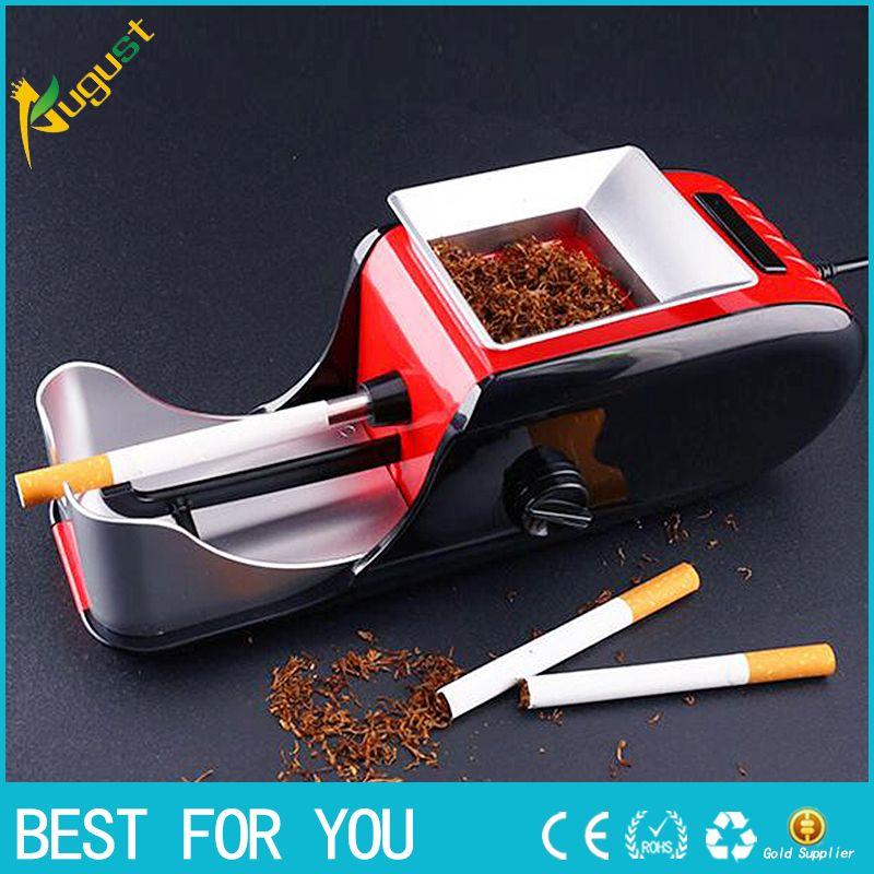 Cigarette électrique rouleau de tabac roulant injecteur Machine fabricant Cigarette Machine EU Plug coupe tabac cigare allume-cigare