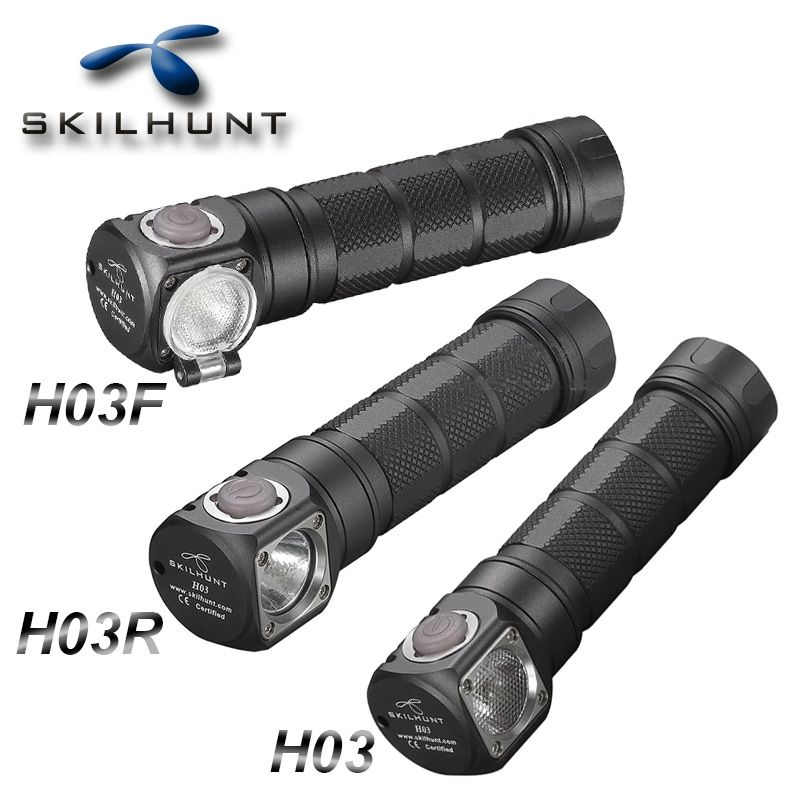NEW Skilhunt H03 H03F H03R Led Headlamp Lampe Frontale Cree XML1200Lm HeadLamp Hunting Fishing Camping Headlight+Headband