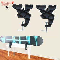 IGOSKI Multifunction Alpine Sonwboard Ski Vise Sport Plus Race or Home Waxing Tuning Edging