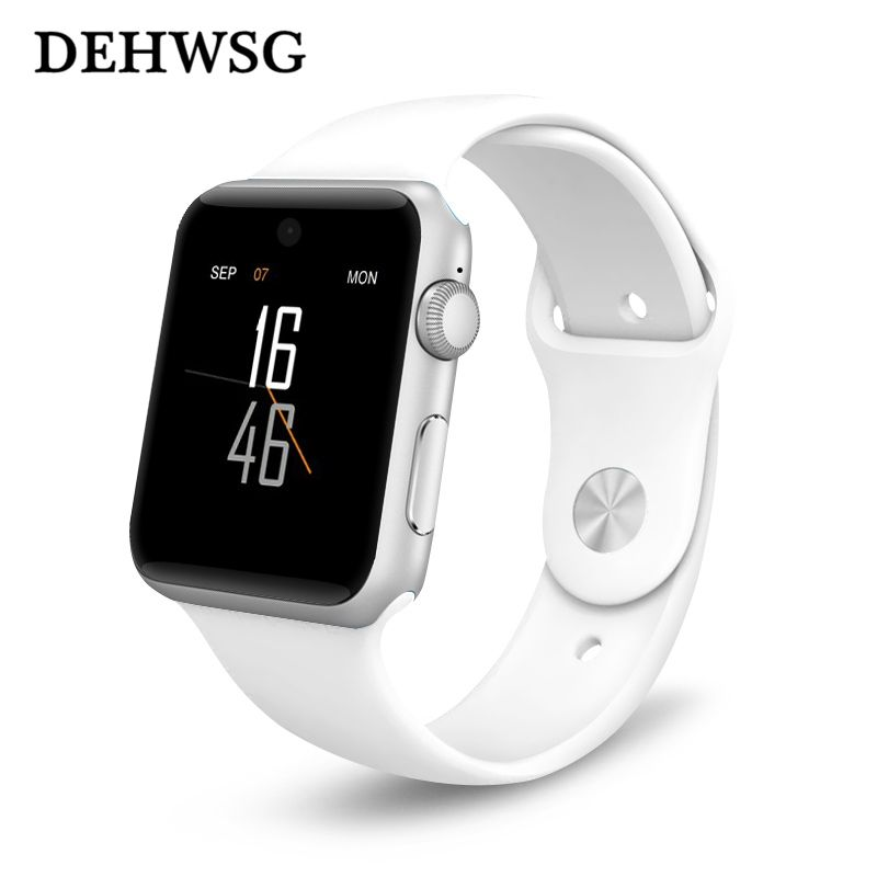 DM09 bluetooth Smart Watch HD Screen Support SIM Card Wearable Devices SmartWatch For iphone 8/X Android pk LF07 dz09 gt08 watch