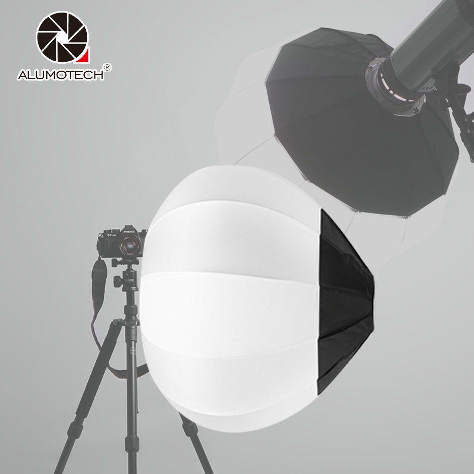45/65/80cm Ball Globe Softbox Bowens Mount Collapsible Lantern Diffuser For Camera Video Studio Flash Strobe Photography