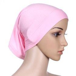 Baru Islam Muslim Wanita Jilbab Kapas Mercerized Underscarf Cover Hiasan Kepala Topi Topi Polos Inner Jilbab 10 Pcs/lot