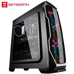 Getworth R36 escritorio I5 8600 K Intel 8th generación CPU Asus 1060 6g tarjeta gráfica 100- 240 V alimentación Win10 hogar