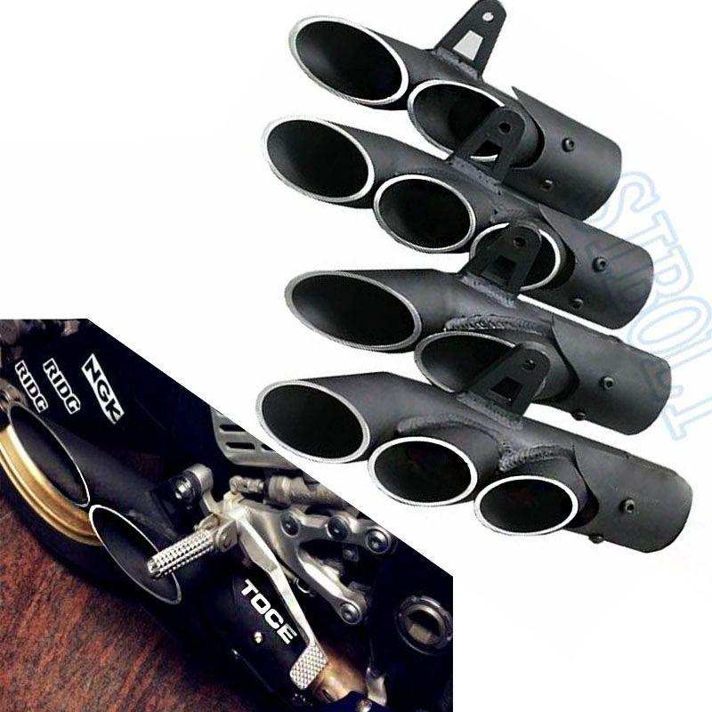 Universal Modified Motorcycle Exhaust Muffler Pipe For YAMAHA R1 R6 R15 FZ1 MT09 TOCE Slip On Racing Escape Moto Silencer YA013