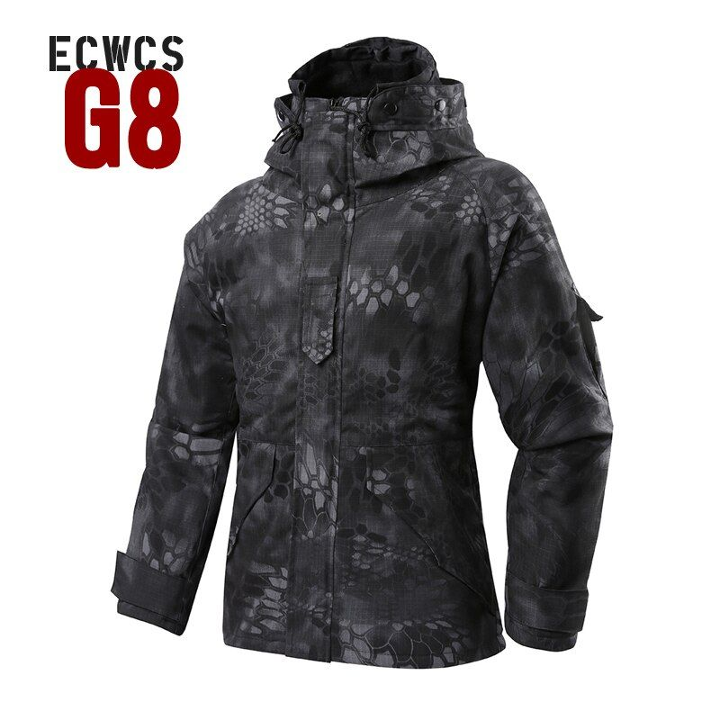 2017 Softshell M-65 FELDJACKE Winter G8 ECWCS softshell jacke männer Windjacke Typhon Hoody bereich jacke Mantel mit Liner