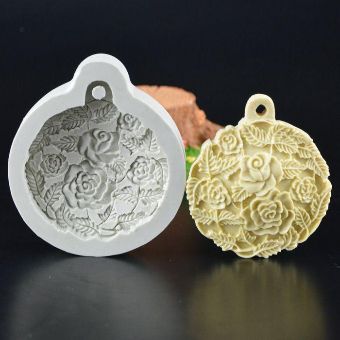 Роза Craft Книги по искусству силиконовые Мыло плесень 3D Ремесло Пресс-формы DIY Fimo Смола глины Формы для свечей помадка ручной Мыло формы H498