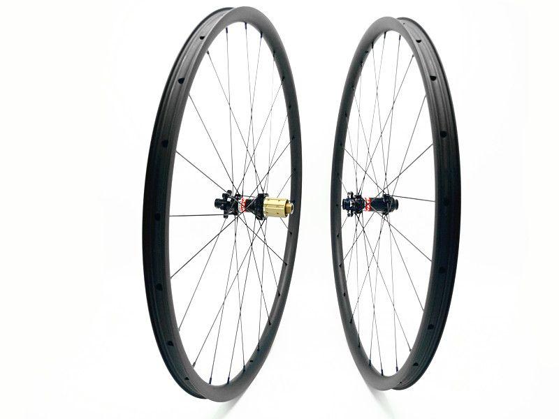 1190g Super Light 29er MTB XC race hookless mountain bike carbon wheels UD matte D411/D412 29inch carbon bicycle wheelset