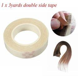 1 см * 3 м двухсторонняя клейкая лента для наращивания волос с уток кожи-супер adhensive Tape Бесплатная доставка