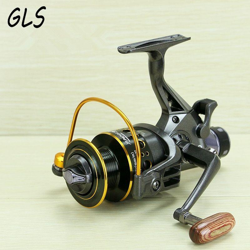 Le Nouveau 10 + Bb Spinning Reel Fishing 5.2: 1 Max Drag 10 KG Pêche À La Carpe Spinning Reel Avant et arrière de frein moulinet de pêche