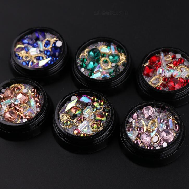 XW106 Nail art Acrylic Powder & Liquid Polish Painting Liquid Glitter Nail tools <font><b>Strokes</b></font> Manicure Nail art decorations