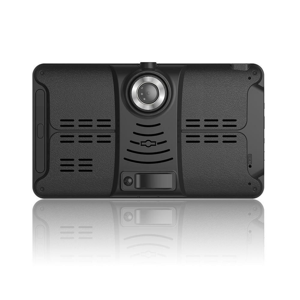 TOPSOURCE voiture DVR GPS Navigation 16G 7 pouces 1024*600 Android Bluetooth wifi fhd 1080 p caméra enregistreur véhicule GPS enregistrement gratuit ma