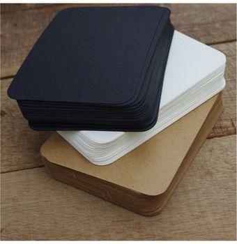 20 шт./партия милые черно-белая крафт-бумага Блокнот блокноты карты креативная Корейская Канцелярия, офисные и школьные принадлежности для д...
