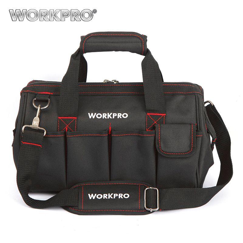 WORKPRO 14 Tool Kit Bag High Quality Tool Storage Bag <font><b>Multifunction</b></font> Bag