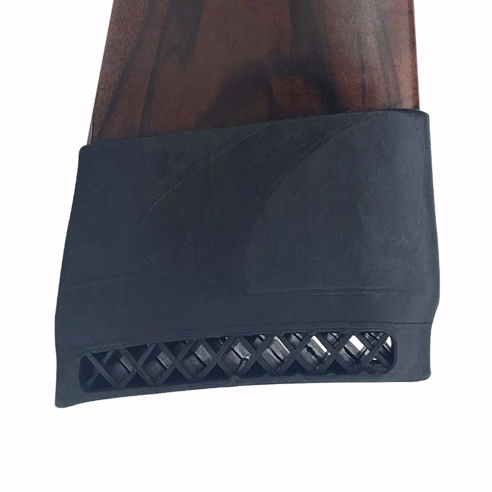 Tourbon Hunting Gun Accessories Tactical Airsoft Gun Buttstock Pad Rubber Shotgun Rifle Shooting Slip-on Recoil Pad